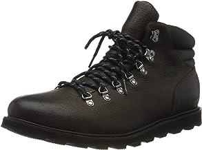 Sorel Men's Madson Waterproof Hiker Botas, Elk/Black, 9.5 D(M) US