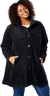women's plus size swing jacket