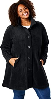 fleece swing coat