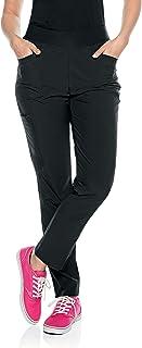5 Pocket, Contemporary Slim Fit Yoga Waist Medical Scrub Pants S201004