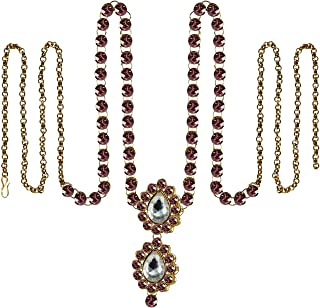Vidhya Kangan Belly Chains for Women (Pink) (bro361)