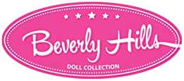Beverly Hills Doll Collection TM Kids Pretend Play Makeup Cosmetic Kit with Bright Polka Dotted Cosmetic Bag