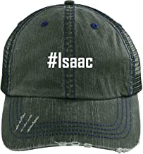 CHICKYSHIRT #Isaac - A Nice Adjustable Embroidered Hashtag Dad Hat Cap