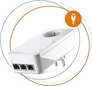 Devolo Magic 2 LAN Triple CPL-adapter met 3 ethernet-poorten, ideaal voor smart-tv, pc en gameconsole