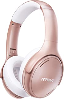 $49 » Mpow H19 IPO Active Noise Cancelling Headphones, Bluetooth 5.0 Headphones with Deep Bass, Fast Charge, 35H Playtime, Light...