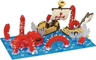 Nanoblock Kraken Attack Building Kit, Blue