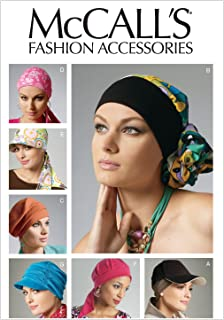 McCall Patterns M6521 Headband, Head Wraps and Hats