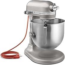 آشپزخانه آشپزخانه KSM8990NP 8-کوارتز تجاری مخلوط روی میز ، 10 سرعته ، دنده محور ، مروارید نیکل