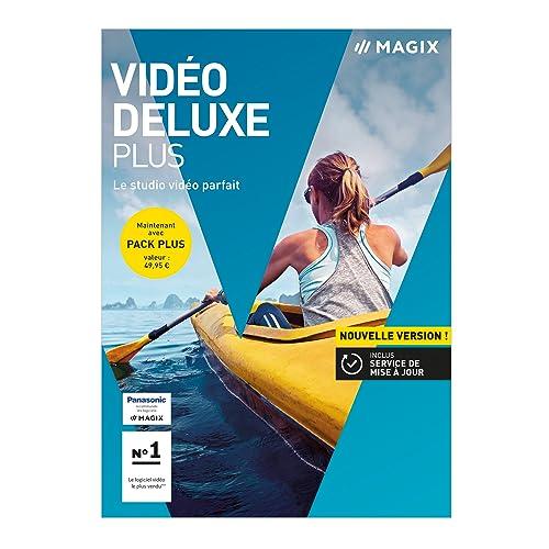 MAGIX Video deluxe 2018 Plus : votre studio vidéo personnel [Téléchargement]