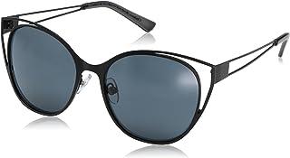 نظارات شمسية بتصميم نسائي أسود مطفي من Foster Grant رقم 8 Ms.4