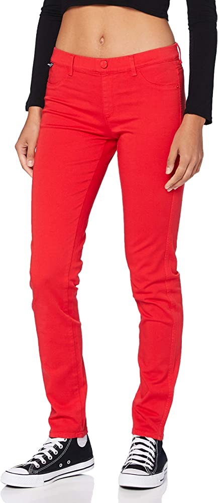 Love moschino hosen, pantaloni casual per donna,in cotone W Q 407 15 S 3445