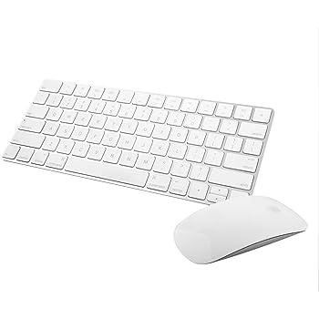 Apple Wireless Magic Keyboard 2 -MLA22LL/A with Apple Magic Bluetooth Mouse 2 -MLA02LL/A (Renewed)