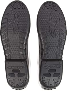 Deslizaderas de magnesio de recambio para botas de moto 25SLI4 OS Gris Alpinestars c/ód