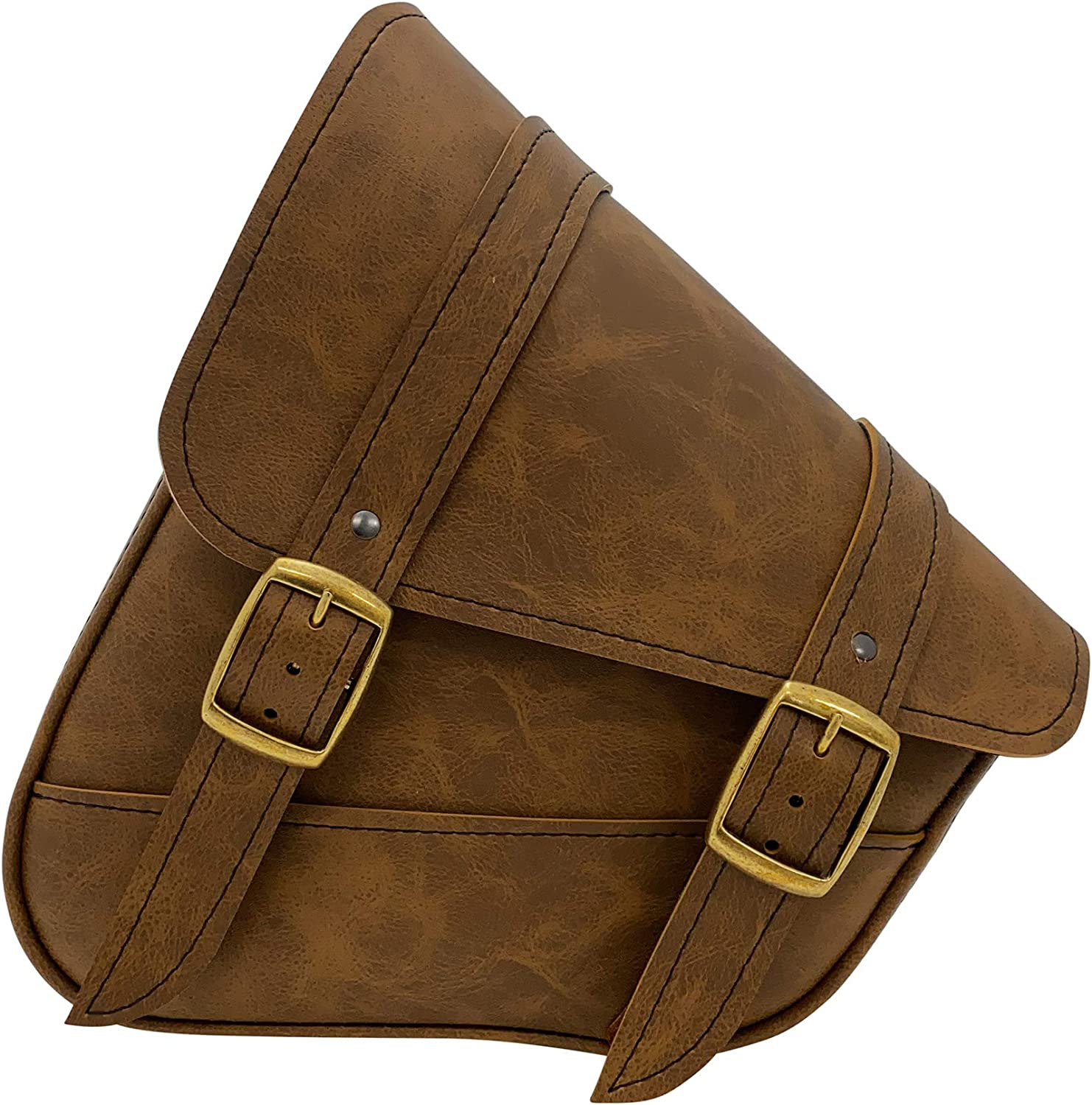 Dowco Willie Many Outlet sale feature popular brands Max Brass Monkey Brown - Softail Bag or Swingarm