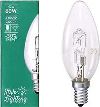 2 5 10 20 Halogen Candle BC SBC ES E27 SES 18W 28W 42W Energy Saving Light Bulbs