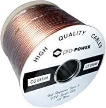 Kenable High Performance Extra Flexible OFC 196 Strand Speaker Cable Reel 100m (~330 feet)