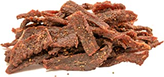 People's Choice Beef Jerky - Tasting Kitchen - Cowboy Peppered - Gourmet Handmade Craft Meat Snack - 1 Pound Bag