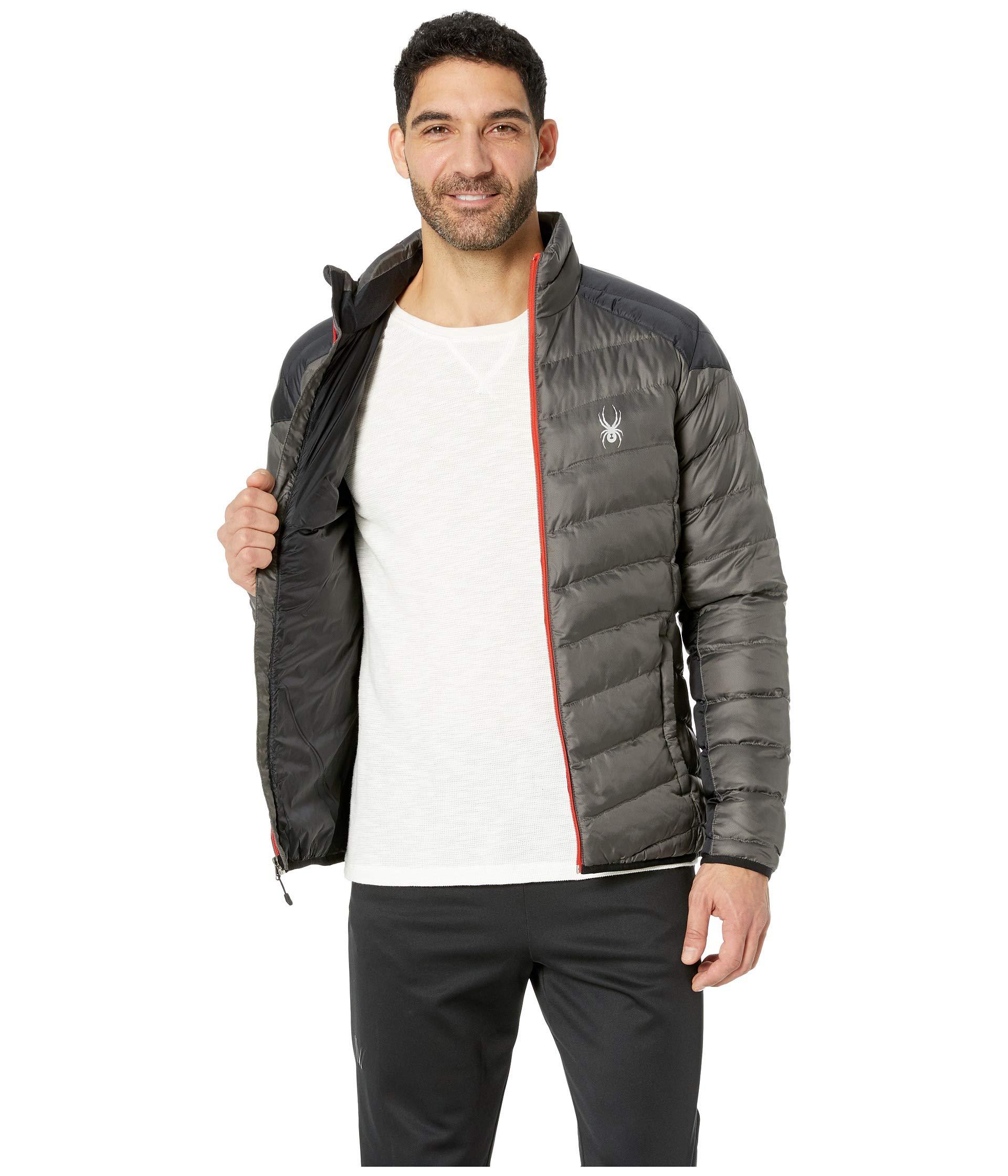 Polar Synthetic Down Jacket black Geared Spyder volcano qvzxH7zw