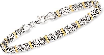 Best sterling silver gold bracelet Reviews