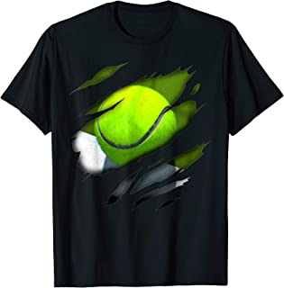 Tennis in me design, Tennisdesign T-Shirt