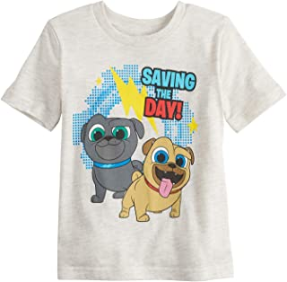 cef63c9909 Jumping Beans Toddler Boys 2T-5T Disney's Puppy Dog Pals Saving The Day  Graphic Tee