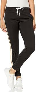 Southpole womens Track Pants w/Stripe Panel Track Pants