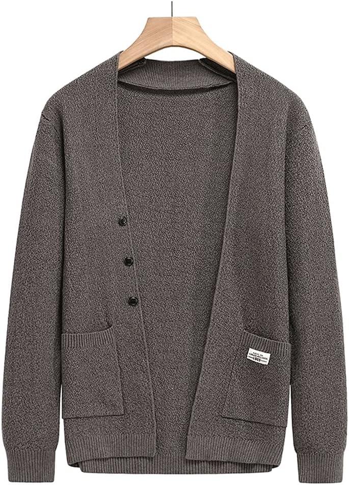 Superlatite LSDJGDDE Autum Winter Knit Limited Special Price Mens Ca Sweaters Button Cute Cardigan