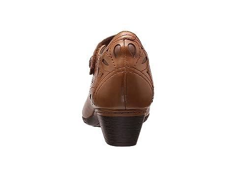 Cobb Abbott Collection Cobb Leather Hill Hill Almond Strap Ankle LeatherBlack Rockport 1wgdU1