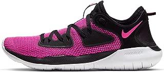 Womens Flex 2019 RN Running Sneakers Black/Laser Fuchsia-White AQ7487-004