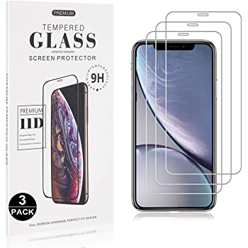 Anti Fingerprint 4 Pack Easy Installation 9H Hardness Tempered Glass Screen Protector Film for iPhone 11 Pro Bear Village Screen Protector for iPhone 11 Pro