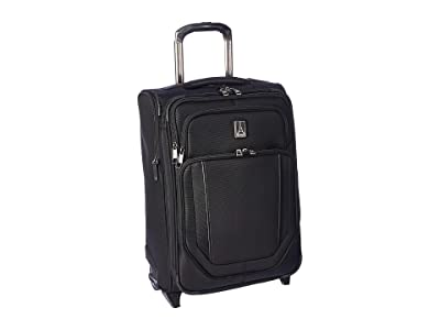 Travelpro 21.5 Crew Versapack Global Carry-On Expandable Rollaboard (Jet Black) Luggage