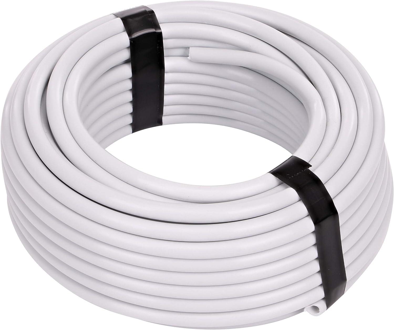 "Raindrip 100050100 1/4"" 50' White Tubing, 0.25 inches x 50 Feet : Industrial & Scientific"
