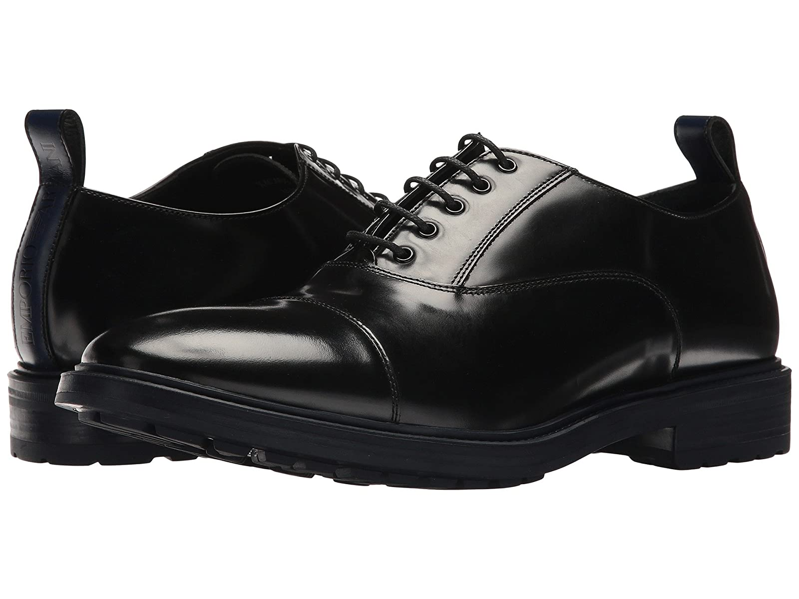 Emporio Armani Cap Toe OxfordCheap and distinctive eye-catching shoes