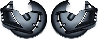 Kuryakyn 7460 Motorcycle Accent Accessory: Front End Rotor Covers for Honda Gold Wing GL1800 & F6B Motorcycles, Gloss Black, 1 Pair