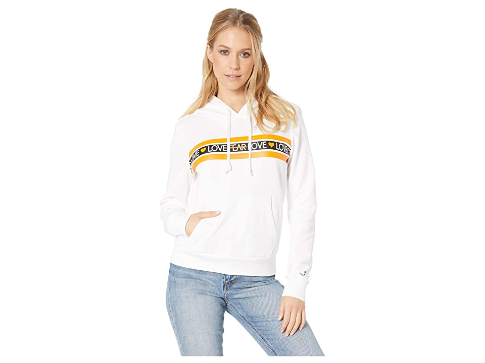 Converse Love the Progress Print Hoodie (White) Women
