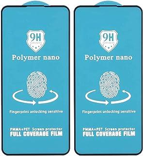 شاشة حماية نانو بوليمر 9H لموبايل اوبو رينو2 Z من دراجون، 5.5 بوصة، قطعتين - اسود