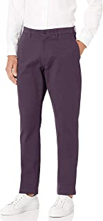 Goodthreads Amazon Brand Men's Athletic-Fit Washed Comfort Stretch Chino Pant