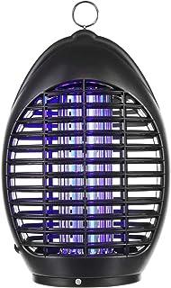 amaes - Lámpara antiinsectos, Trampa de Rayos UV, LED Repelente sin radiación, para casa, Oficina, campin y Exterior, con Gancho