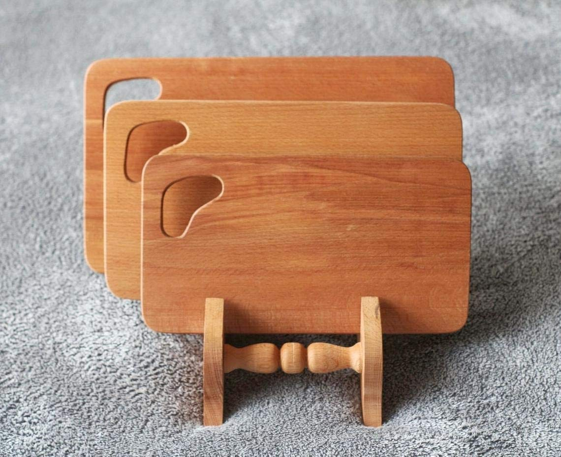 Oak cutting board set Solid for Wholesale Board Wood Industry No. 1 Kitchen Cutting