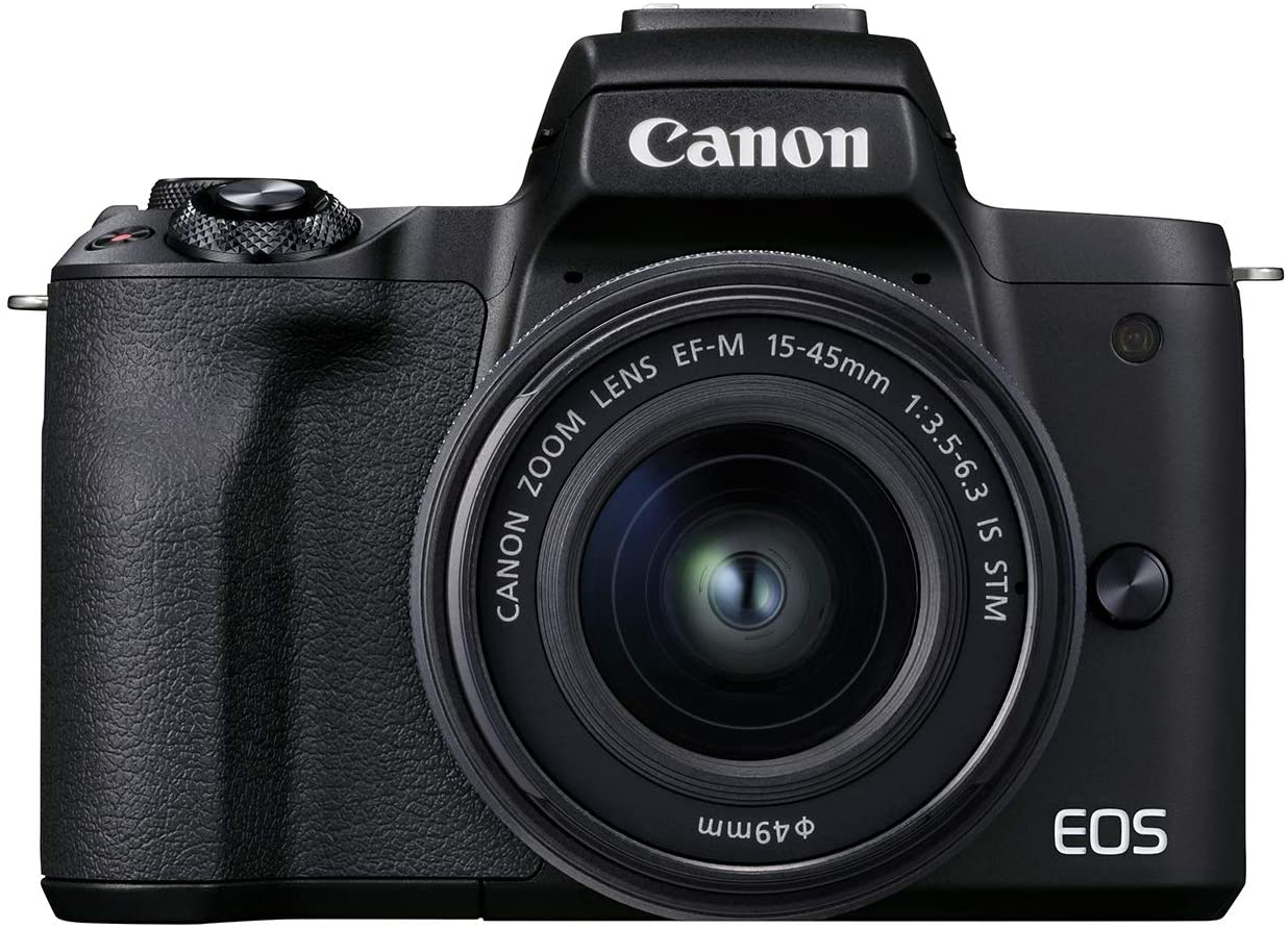 New arrival Canon San Diego Mall EOS M50 Mark II + Black Kit 15-45mm STM EF-M is