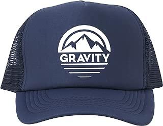 Gravity Outdoor Co. Mountain Stripe Logo Adjustable Mesh Trucker Hat