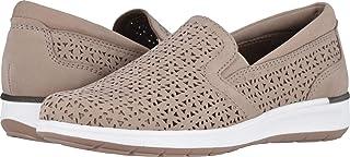 حذاء نسائي Orleans خفيف رمادي داكن مثقوب مقاس 10 M (B) من Walking Cradles