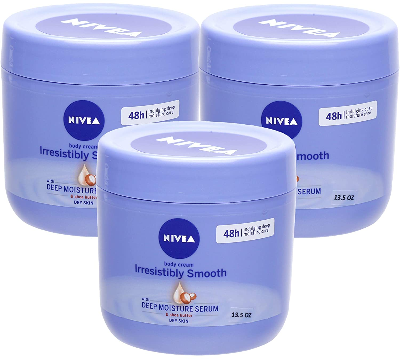 Nivea Irresistibly Smooth Sale item Body cheap Cream - 13.5 Oz 3 mL 400 P x Fl