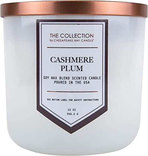 popular Chesapeake Bay Candle online The Collection Two-Wick Scented Candle, 2021 Cashmere Plum outlet sale
