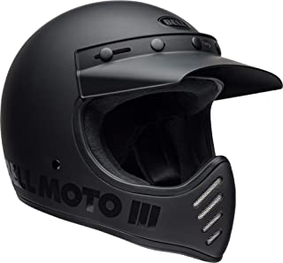 Bell Moto-3 Off-Road Motorcycle Helmet (Classic Matte/Gloss Blackout, Large)