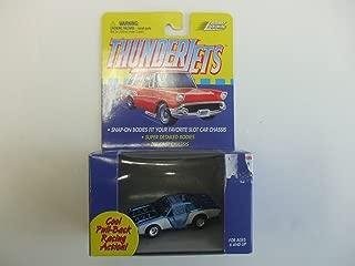 Johnny Lightning ThunderJet 500 - HO Scale - Pull Back Action Chevelle Metallic Blue