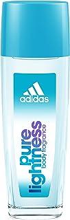 عطر زنانه Adidas Body Light، برای خانم ها، 2.5 عطر بطری اسپری برنزه کننده، اسپری بدن برای استفاده روزمره از عطر گل ها