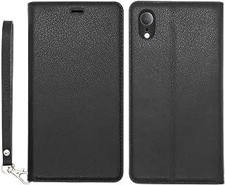 d9232f3ce3 iPhone XR ケース 手帳型 薄型 耐衝撃 ススマホケース 軽量 カード収納 スタンド機能 ストラップ付き ハンドメイド 本革 アイフォンXR ケース ワイヤレス充電対応 ...