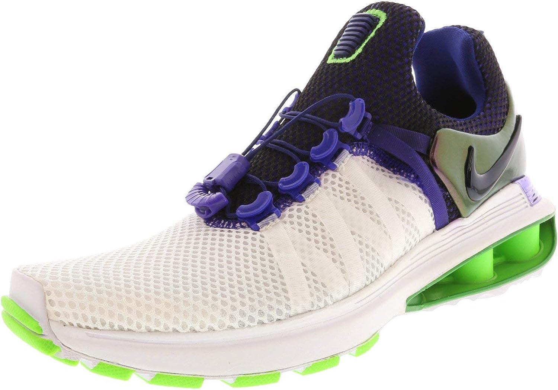Nike Woherrar Shox Gravity springaning Shos vit vit vit  Fusion lila  världsberömd försäljning online