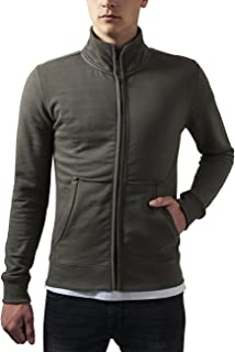 Urban Classics Men's Loose Terry Zip Jacket